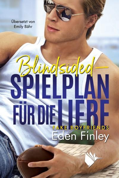 """Buchbox """"Blindsided - Spielplan für die Liebe"""""""
