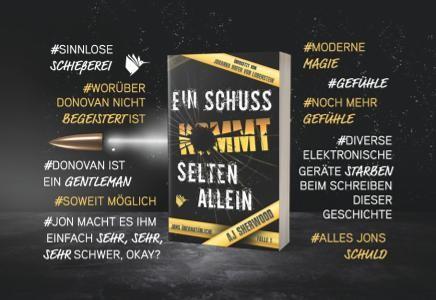 """Magnet """"Ein Schuss kommt selten allein"""" (Jons übernatürliche Fälle)"""