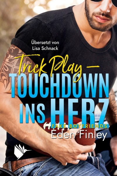 """Buchbox """"Trick Play - Touchdown ins Herz"""""""