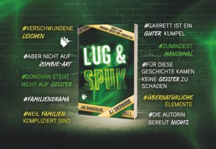 """Magnet """"Lug und Spuk"""" (Jons übernatürliche Fälle)"""
