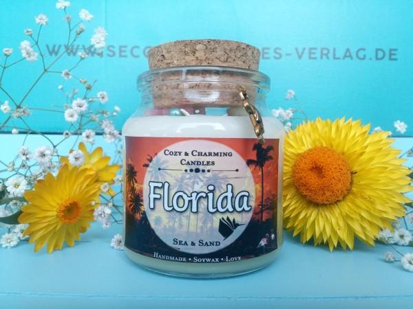 "Glaskerze ""Florida"" (Pros & Cons-Reihe)"