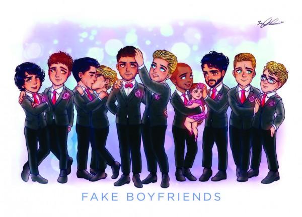 Karte Fake Boyfriends