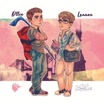 """Magnet """"Ollie und Lennon"""" (Fake Boyfriends)"""